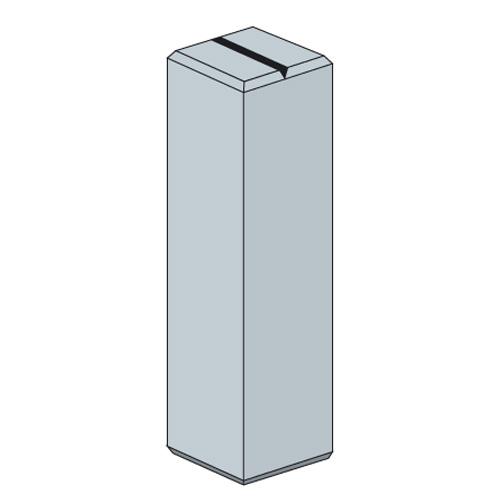 鉄筋入りコンクリート杭60×60×450  DC645