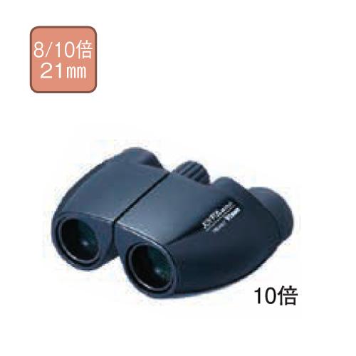 【送料無料】双眼鏡ジョイフル MS10×21 ブラック ビクセン