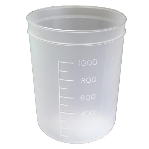 【送料無料】ディスポ容器Aシリーズ 1L(100個入)中川産業
