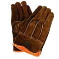 【送料無料】防寒手袋 牛床革タイプ 防寒 牛床革オイル背縫い 2284 10双 川西工業