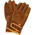 【送料無料】防寒手袋 牛床革タイプ 防寒 牛床革オイルマジック 2285 10双 川西工業