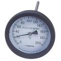 【佐藤計量器】アスファルト用温度計 100mmφ/白 AT-100 (測定範囲:0~200℃)