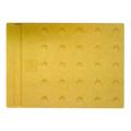 【送料無料】エコ点字パネル(再生エラストマー樹脂使用) ホームタイプ 400×300 黄 20枚 エコマーク認定 アラオ