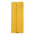 【送料無料】点字パネル(ラバータイプ) セパレートタイプ 120×300 黄 60枚 アラオ