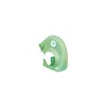 【送料無料】クランプカバー ハイソフト 蛍光グリーン 100個 アラオ