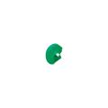 【送料無料】クランプカバー ソフトカバー グリーン 100個 アラオ