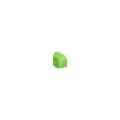 【送料無料】クランプカバー ハイカバー(硬質) グリーン 100個 アラオ