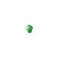 【送料無料】パイプカバー エコキャッピカ(シール付) 200個 D19~25 単管兼用 緑 エコマーク認定 アラオ