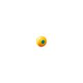 【送料無料】パイプカバー キャッピカ(シール付) 200個 D19~25(48.6φ単管兼用) 黄 アラオ