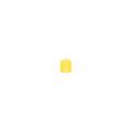 【送料無料】パイプカバー ソフトキャッピカ 200個 42.7φ 黄 アラオ