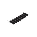 【送料無料】波止めジョニー(波型止水板) ボンド・金具付属 1巻 100w×20m 黒 アラオ