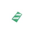 【送料無料】コーナーガード(反射タイプ) 10枚  270W×2,000L(うちクッション部220W) 緑/白 アラオ