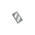 【送料無料】コーナーガード(反射タイプ) 10枚  270W×2,000L(うちクッション部220W) グレー/白 アラオ