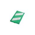【送料無料】コーナーガード(ハトメタイプ) 10枚 270W×2,000L 緑/白 アラオ