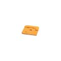 【送料無料】エコワイドベース角兼用 50枚 140角 黄 エコマーク認定 アラオ