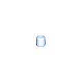 【送料無料】脚立足ゴム 合成・中 500個 28.6φ グレー 樹脂/座金入り アラオ