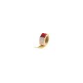 【送料無料】テープロッド 10巻 50w×25m巻 赤白30cmピッチ アラオ