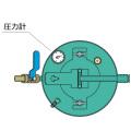 携帯乳剤スプレヤー用交換部品 圧力計