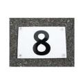 ブーブーライン用 番号プレート BP5 (砂利/アスファルト/コンクリート用) Glaken [メーカーから探す][か行][グラスファイバー工研][ブーブーライン]