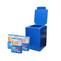 簡易トイレ プラダントイレmini-30(組立式便座/トイレ処理剤30回分) まいにち [仮設用材][簡易仮設トイレ]