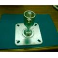 単管接続用 水平ベース 2t S-15-1A-2000B【ジョイント工業】締付:ホーローセット(イモネジ)
