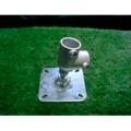 単管接続用 水平ベース(2t)タイプ S-15-2L-2000B【ジョイント工業】締付:ホーローセット(イモネジ)