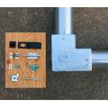 単管接続用 L型錠前取付金具 25-2L【ジョイント工業】 上級者向け