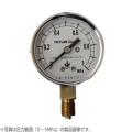 木幡計器製作所 圧力計 φ60/A型 AT 1/4 60 (0-0.1MPa) [測量][測定機器][温度計][測定器][圧力計]