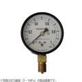 木幡計器製作所 圧力計 φ75/A型 AT 3/8 75 (0-0.1MPa) [測量][測定機器][温度計][測定器][圧力計]