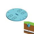 埋設管表示システム プレート 950910 (100個入)トーマスアンドベッツ [副資材][結束バンド][デルテックケーブルサポートシステム]