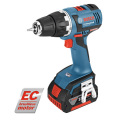 ボッシュ バッテリードライバードリル GSR 18V-EC (4.0Ah・2.0Ahバッテリー各1個、充電器、キャリングケースL-BOXX136付) [作業工具][産業機械][電動][エアー工具][ドライバドリル]