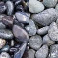 【送料無料】ヤマト和風本玉石 那智石(20kg)マツモト産業[化粧砂利][和風本玉石]
