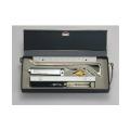 【送料無料】金属アリダードセット MAS-22 22cm・セット [測量][測定機器][温度計][測定器][方位計][コンパス]