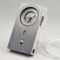 【送料無料】クリノメーター 金属製松尾型 ケース付 [測量][測定機器][温度計][測定器][方位計][コンパス]