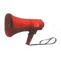 【送料無料】レイニーメガホン 15W TS-713P 15W/サイレン付/赤 ノボル電機 [保護保安用材][メガホン][拡声器]