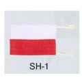 旗 SH-1 測量旗/35×54cm [保護保安用材][保安資材]