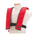 【送料無料】自動膨脹式ライフジャケット オーシャンLG-1 レッド [保護保安用材][防犯][防災グッズ]