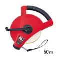 【送料無料】繊維巻尺 スピードタフミックリール SGR12-50 50m KDS [測量][測定機器][水平器][メジャー][巻尺][繊維製巻尺]
