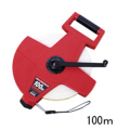 【送料無料】繊維巻尺 スピードタフミックリール SGR12-100 100m KDS [測量][測定機器][水平器][メジャー][巻尺][繊維製巻尺]