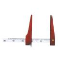【送料無料】ノギス 輪尺 TCW-45 45cm 中堀式 [測量][測定機器][水平器][メジャー][ノギス]