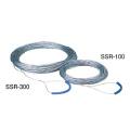 【送料無料】測量ロープ ワイヤーロープ SSR-100 100m [測量][測定機器][水平器][メジャー][測量ロープ]