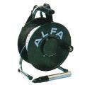 【送料無料】ロープ式水位計 TYPE1 1-30B 30m/1.5kg アルファ光学 [測量][測定機器][温度計][測定器][水位計]
