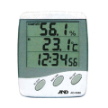 【送料無料】3ライン温湿度計 AD-5680 温度・湿度・時刻 エー・アンド・ディ [測量][測定機器][温度計][測定器][温度計][湿度計]