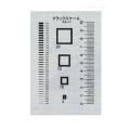 【送料無料】クラックスケール CRKS 70×120mm マイゾックス [測量][測定機器][試験機][試験器][コンクリート試験機]