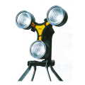 【送料無料】LED×3灯 スーパーワークライト 20W LED WT-1000 ムサシ [保護保安用材][点検器具]