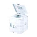 【送料無料】ポータブル水洗トイレ 24L V-24L [保護保安用材][防犯][防災グッズ]