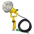 【送料無料】LED安全投光器 14W ATL-E1405-5000K 昼白色 アース付 5M 日動工業 [建築土木機材][投光器][現場照明]