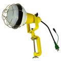 【送料無料】LED安全投光器 50W ATL-E5000-3000K アース付 0.3m 電球色 日動工業 [建築土木機材][投光器][現場照明]