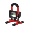【送料無料】充電式LEDチャージライトミニ 5W 本体色:赤 BAT-5W-L1PS-R 日動工業 [建築土木機材][投光器][現場照明]