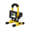 【送料無料】充電式LEDチャージライトミニ 10W 本体色:黄 BAT-10W-L1PS-Y 日動工業 [建築土木機材][投光器][現場照明]